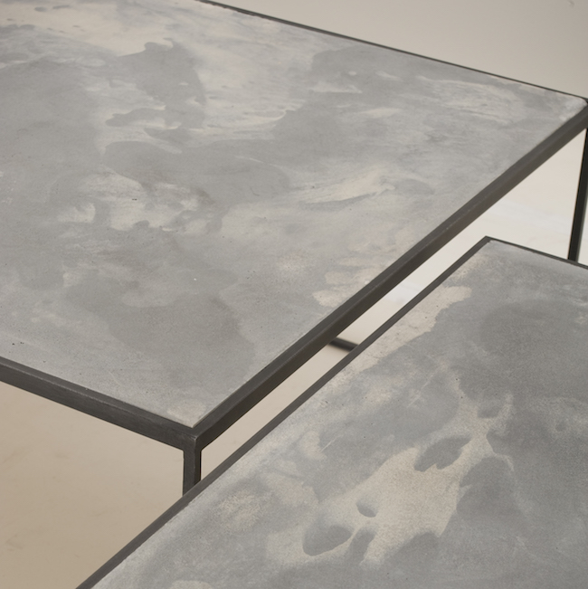 Tables Cube Mix - Halchimia Iron Stone