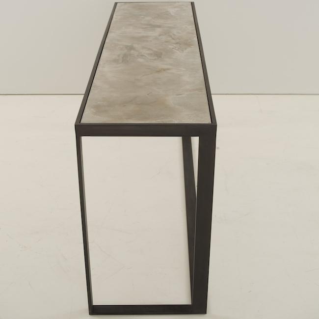 Console Cube P 10-40 - Halchimia Sand & Bronze