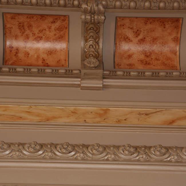 Faux bois-plafond