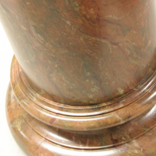 Faux marbre-colonne