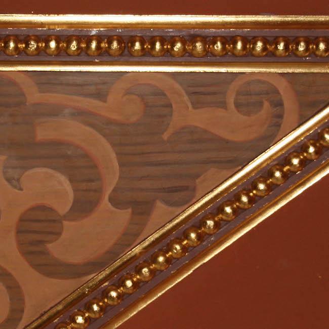 Plafond et mur XIXè